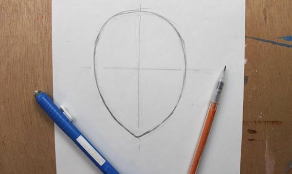 Как нарисовать кудри: шаг 1