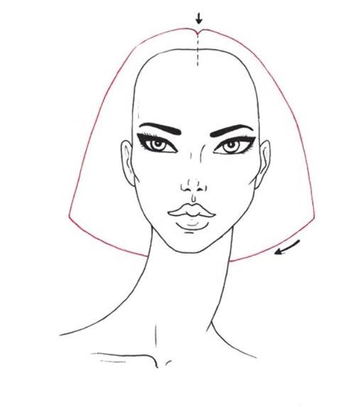 Как нарисовать вьющиеся волосы поэтапно шаг 2