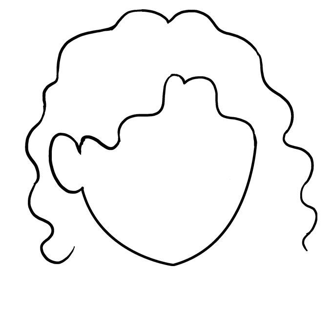 Волнистые волосы шаг 5