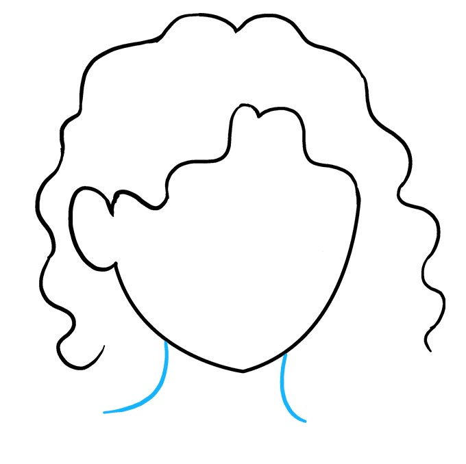 Волнистые волосы шаг 6