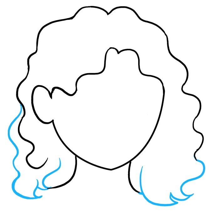 Волнистые волосы шаг 7