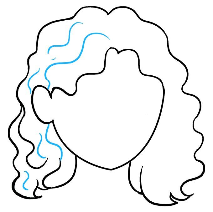 Волнистые волосы шаг 8