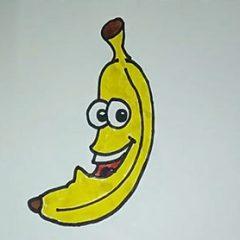 Как легко нарисовать банан?