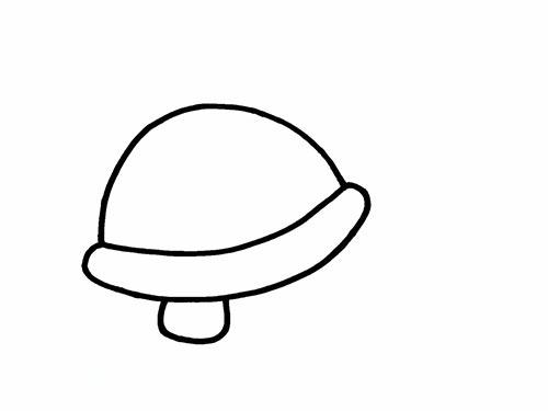 Как нарисовать черепаху для детей - Шаг 4
