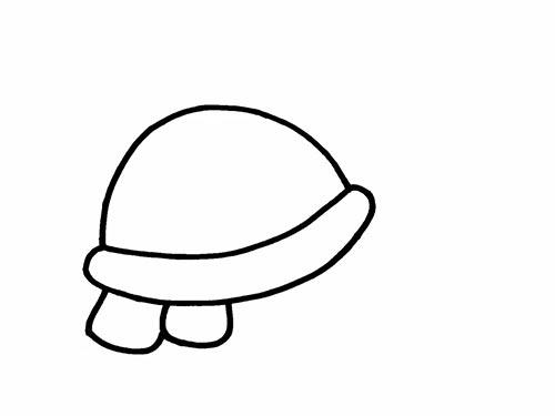 Как нарисовать черепаху для детей - Шаг 5