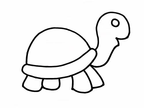 Как нарисовать черепаху для детей - Шаг 9
