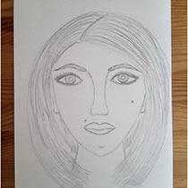 Как научить ребенка рисовать портрет