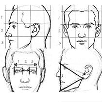 Как нарисовать лицо (основы + пропорции) - уроки для начинающих