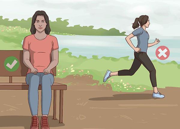 Как перехотеть писать? Меньше двигайтесь, сохраняйте спокойствие, меньше резких движений.