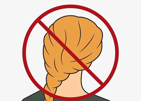 Распустите все прически, которые могут повлиять на точность измерения обхвата головы.