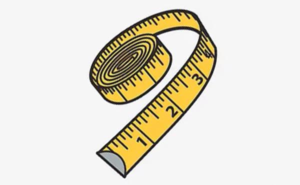 Используйте портновский сантиметр для измерения обхвата головы.