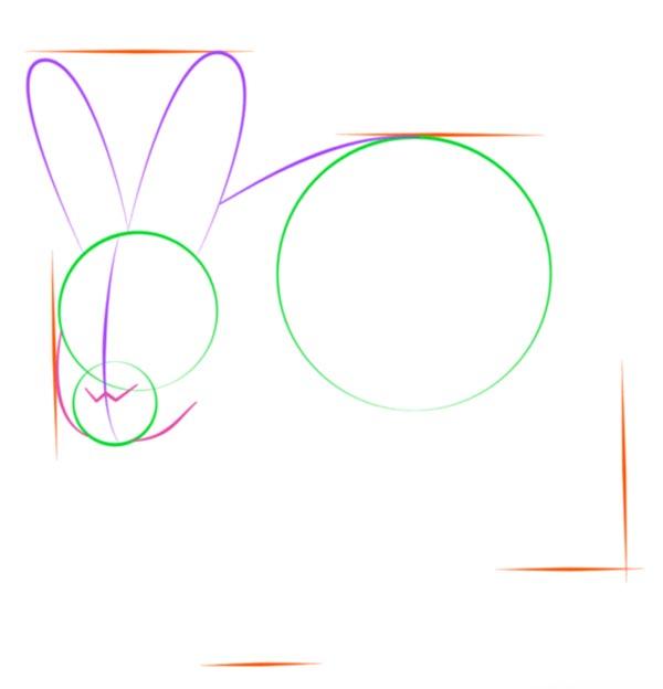 Как нарисовать зайца шаг 4