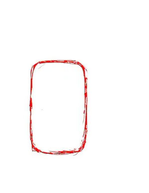 Как нарисовать Пикачу - Шаг 1