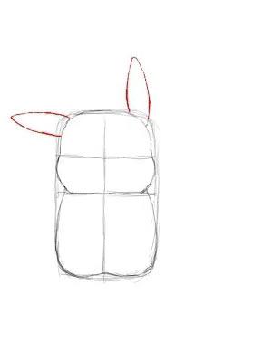 Как нарисовать Пикачу - Шаг 5
