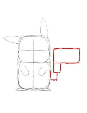 Как нарисовать Пикачу - Шаг 7