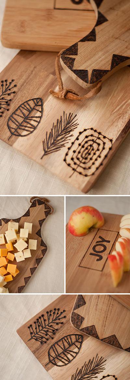 Гравированные деревянные разделочные доски своими руками
