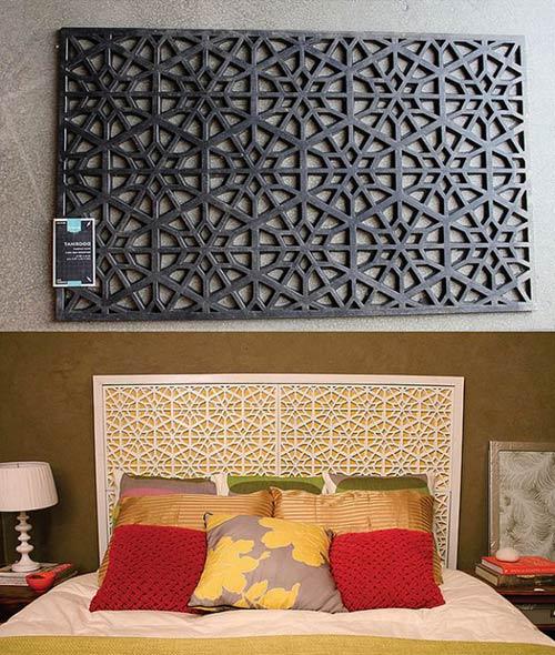 Изголовье кровати West Elm Morocco для декора спальни