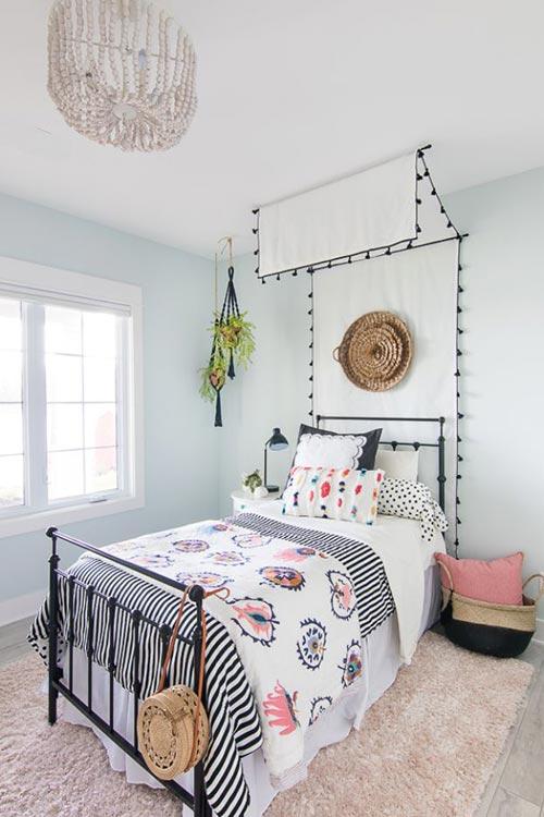 """Используем стиль """"Beachy Boho"""" для декора спальни"""
