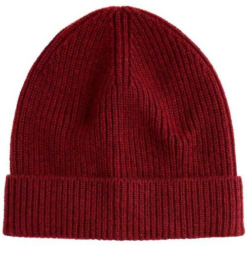 Зимняя шапка в подарок парню