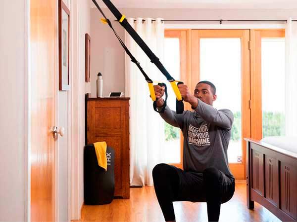 Набор инвентаря для домашней тренировки
