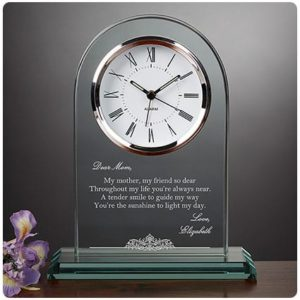 Подарок маме - персонализированные Часы