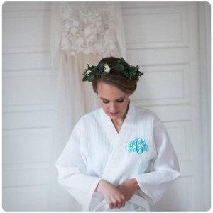 Подарок маме - персонализированный банный халат