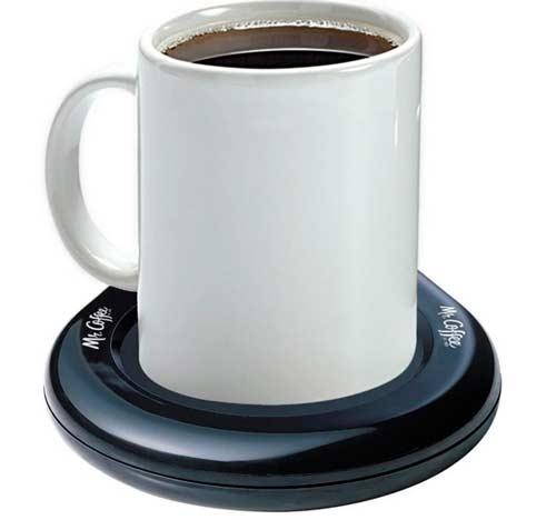 Подогреватель кофе в подарок папе