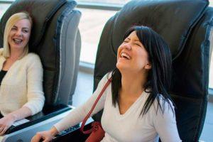 Расслабляющее массажное кресло