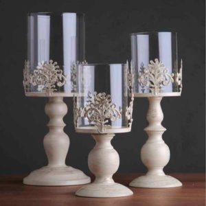 Свечи и подсвечники в подарок маме