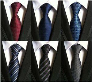 Подарок папе - набор классических мужских галстуков