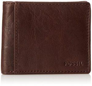 Кожаный кошелек в подарок папе