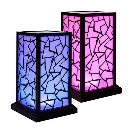 Декоративная лампа - подарок на день рождения