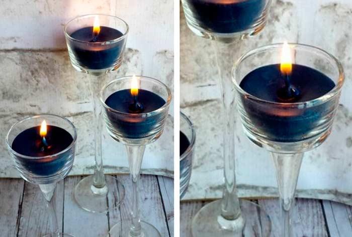 Домашние свечи - подарок своими руками