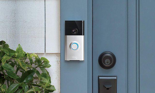 Дверной звонок с видеокамерой