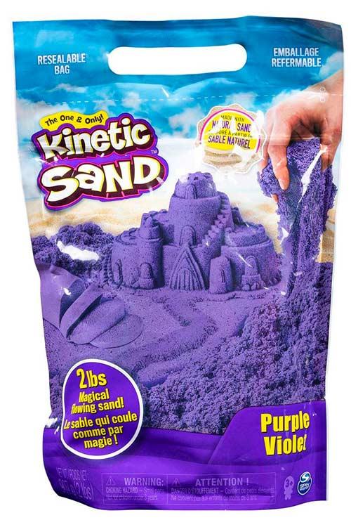 Подарок 10-му мальчику - кинетический песок
