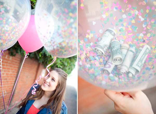 Воздушные шары - подарок на день рождения своими руками