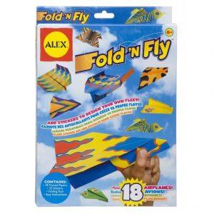 Подарок 10-му мальчику - набор складных самолетов
