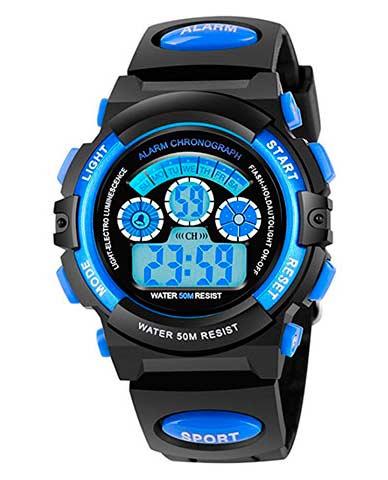 Подарок для девочки - детские спортивные наручные часы