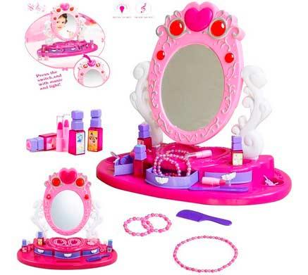 Детский набор туалетных столиков в подарок девочке 6 лет