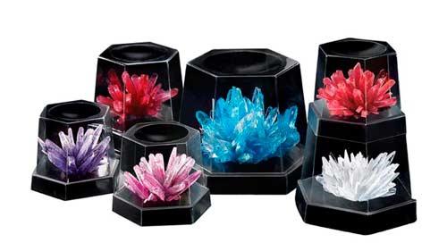 Подарок девочке 6 лет - набор для выращивания сверкающих кристаллов