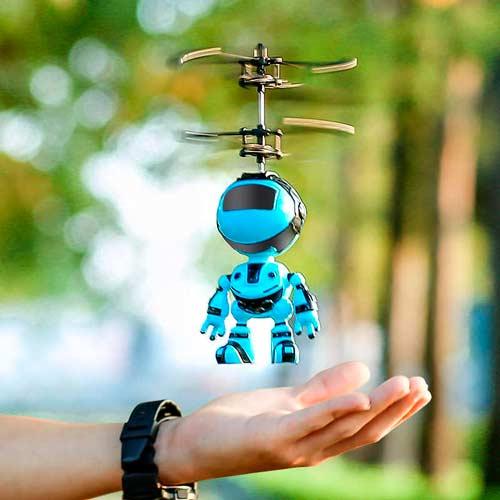 Подарок 10-му мальчику - робот - дрон