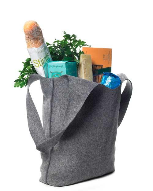 Войлочная сумка - подарок на день рождения