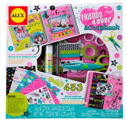 Подарок для девочки - детский набор для скрапбукинга