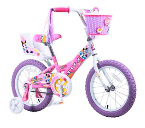 Подарок для девочки - велосипед
