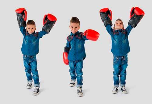 Боксёрские перчатки в подарок ребёнку 8 лет