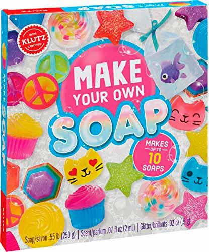 Набор для домашнего мыловарения - подарок для мальчика