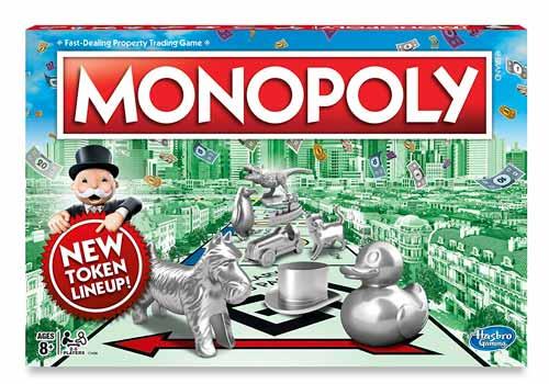 Подарок на день рождения- монополия