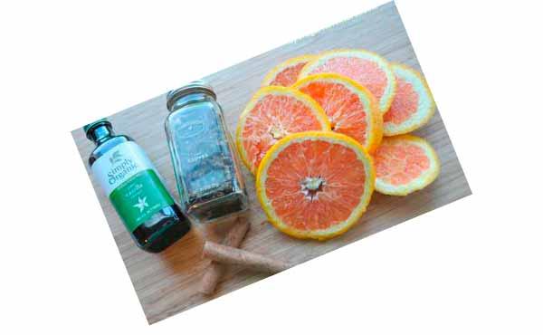 Апельсин, корица, гвоздика и ваниль - своими руками подруге