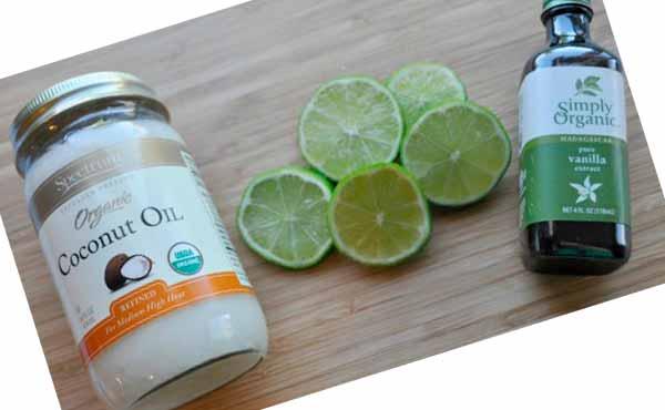 Лайм, кокосовое масло и ваниль - своими руками подруге