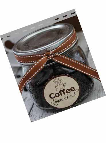 Кофейный скраб в подарок подруге